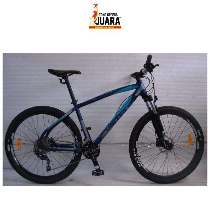 SEPEDA UNITED NUCLEUS 5.0 ALLOY 2x10SPD DEORE MTB 27,5 INCH